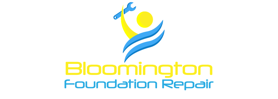 a logo for Bloomington Indiana Foundation Repair company